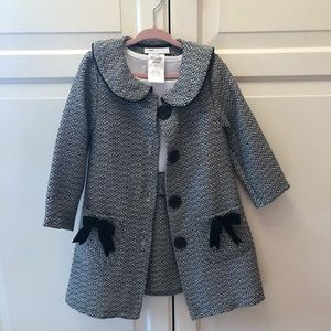 Other - Adorable toddler dress and coat outfit